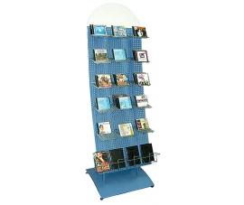 Дисплей пристенный для продажи CD, DVD