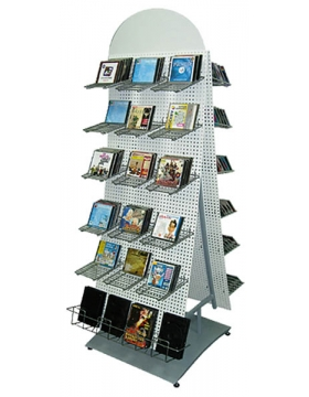 Дисплей островной для продажи CD/DVD