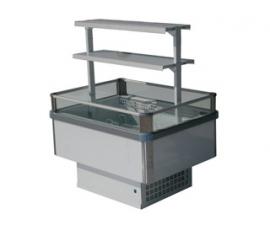 Холодильный бонет 1200 Бергамо 1000 c боковыми панелями