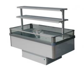 Холодильный бонет 1800 Бергамо 1000 с левой боковой панелью