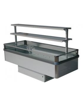 Холодильный бонет 2400 Бергамо 1000 без боковых панелей