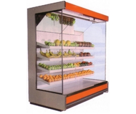 Холодильная горка фруктовая Киев 1000x2250х3750