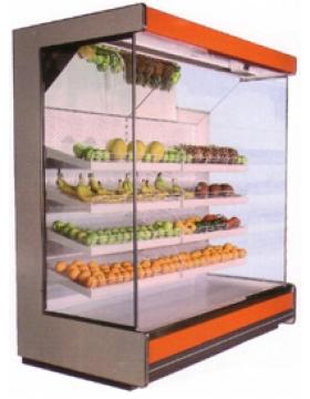 Холодильная горка фруктовая Киев 1100x2250х3750