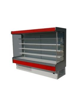Холодильная горка 2500 Мадрид 900 с левой боковой панелью