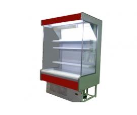 Холодильная горка 1250 Мадрид Фруктовая 900 без боковых панелей