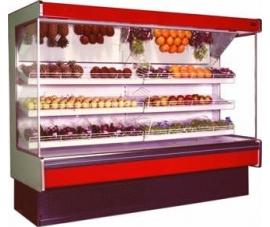 Холодильная горка 2500 Мадрид Фруктовая 900 без боковых панелей