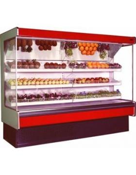 Холодильная горка 2500 Мадрид Фруктовая 900 с правой боковой пан