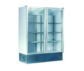 Холодильный шкаф 1400 Арктика стеклянный вентилируемый