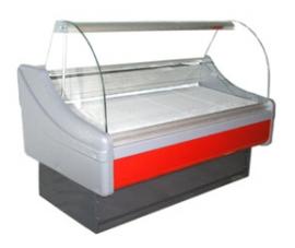 Холодильная витрина 1800 Милан с боковыми панелями 800
