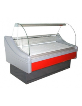 Холодильная витрина 1200 Милан с боковыми панелями 800