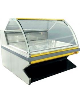 Холодильная витрина Москва с хранилищем гастрономическая 2560х1282х1170