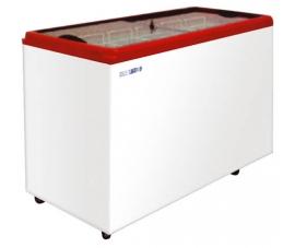 Морозильный ларь (крышка прямое стекло) Italfrost  F-500