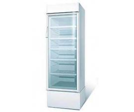 Шкаф холодильный со стеклянной дверью Бирюса 310 стат. (с канапе)