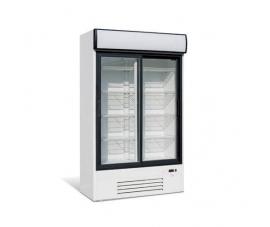 Шкаф холодильный, стеклянные раздвижные двери (динам. охл.) Премьер ШВУП1 860/К купе канапе (возд-ль  1... 10)
