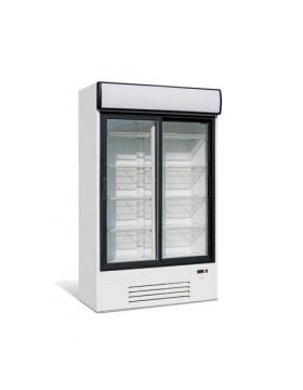 Шкаф холодильный, стеклянные раздвижные двери (динам. охл.) Премьер ШСУП1 860/К купе канапе (исп./вент. -6...0)