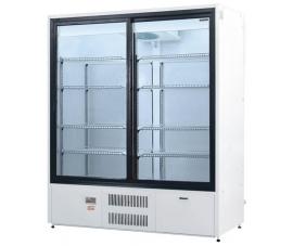 Шкаф холодильный двери-купе (динам. охл.)  1.. 10 Премьер ШВУП1 1400/К купе (возд-ль,  1.. 10) Ш1-2ВУ1