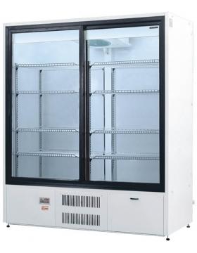 Шкаф холодильный двери-купе (динам. охл.) Премьер ШВУП1 1400/К купе (исп./вент.) Ш1-2ВУ1