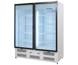 Шкаф холодильный двери-купе, стеклянные распашные двери (динам.охлажд.)  1... 10 Премьер ШВУП1 1400/С (исп./вент.) Ш1-4ВУ1