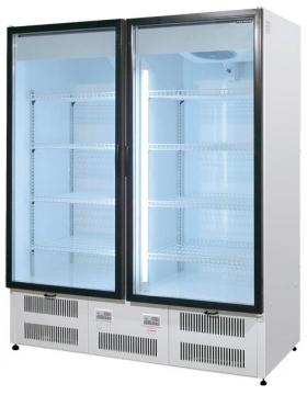 Шкаф холодильный, стеклянные распашные двери (стат. охл.) Премьер ШВУП1 1500/С (исп.) Ш1-5ВУ1