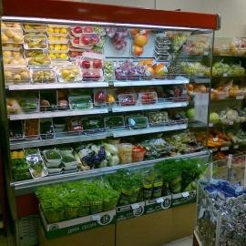 Холодильная горка KIFATO Мадрид для фруктов