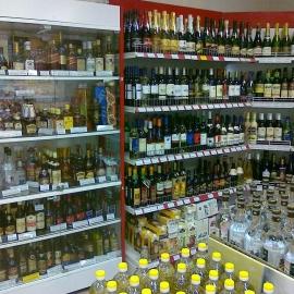 Шкаф Русь В-2 под элитный алкоголь