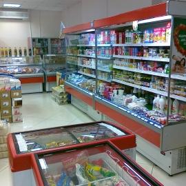 Горка холодильная Кифато Мадрид, витрина холодильная Кифато Аляс