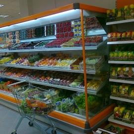 Тележка покупательская 60л. Горка холодильная Кифато Киев 3750Ф