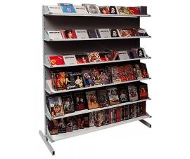 Стеллаж пристенный для продажи CD/DVD/VHS/MC