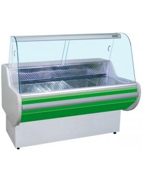 Витрина холодильная (гнутое стекло) Премьер-Классика стат. 150 ВВУП1/К-1,5