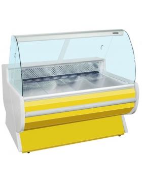 Витрина холодильная (гнутое стекло) Премьер-Фантазия стат. 130 ВСУП1/Ф-1,3