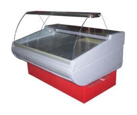 Витрина холодильная (гнутое стекло) Премьер-Фаворит стат. 160 ВСУП1/F-1,6