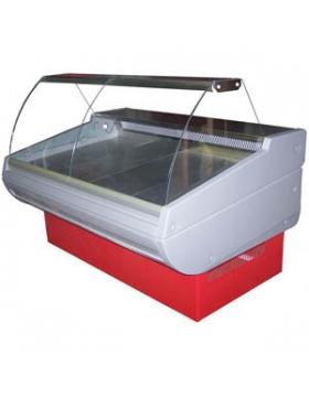 Витрина холодильная (гнутое стекло) Премьер-Фаворит стат. 230 ВСУП1/F-2,3