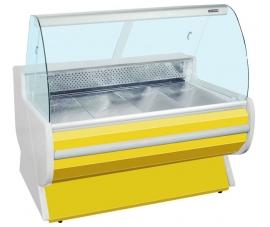 Витрина холодильная (гнутое стекло) Премьер-Фантазия стат. 250 ВСУП1/Ф-2,5/L